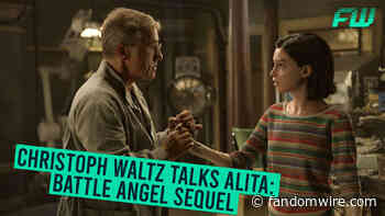 Christoph Waltz Talks Alita: Battle Angel Sequel - Fandomwire