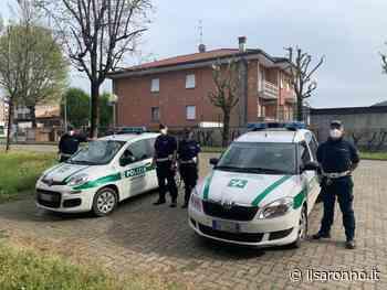 Coronavirus, la polizia locale di Cogliate attende al varco chi esce senza motivo - ilSaronno