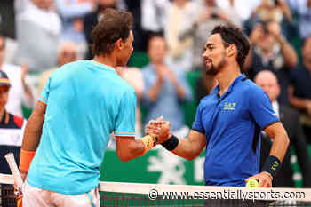 WATCH: When Fabio Fognini Destroyed Rafael Nadal at the Monte-Carlo Masters - Essentially Sports