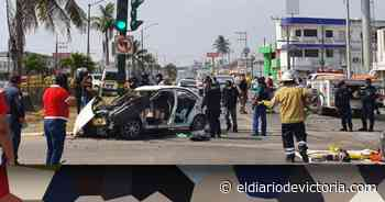 Fatal accidente en la carretera Tampico - Mante - El Diario de Ciudad Victoria
