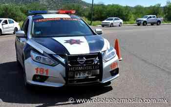 Ángel N. fue detenido por robar tambo de gas grande... y chico - El Sol de Hermosillo