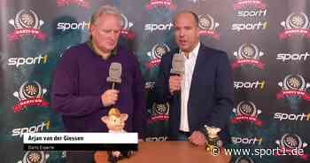 Darts-WM 2020 | Interview van der Giessen - SPORT1