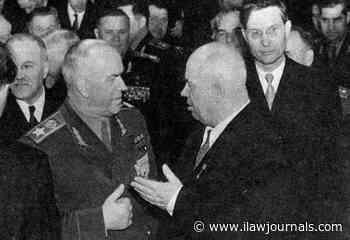 Why Khrushchev was afraid of Marshal Zhukov   Law & Crime News - International Law Lawyer News