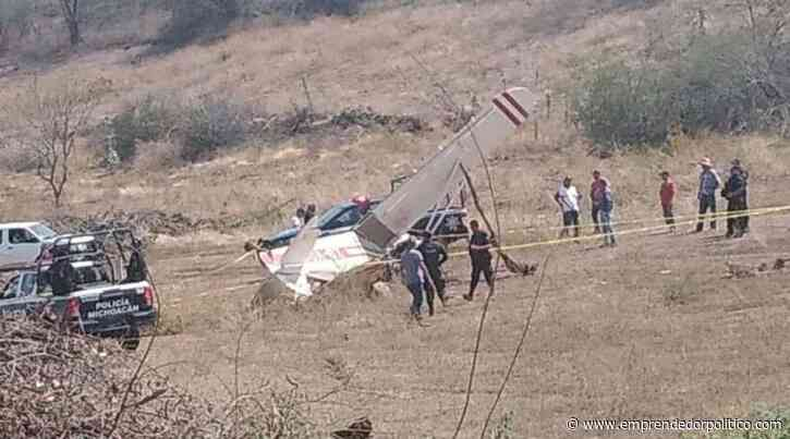 Muere piloto al estrellar su avioneta en Tepalcatepec, #Michoacán - Noticias Emprendedor Político