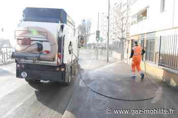 Ile-de-France : Bonneuil-sur-Marne met en service sa première balayeuse GNV - Gaz-Mobilite.fr