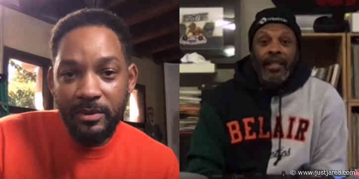 Will Smith Talks to DJ Jazzy Jeff About His Battle With Suspected Coronavirus - Watch! (Video)
