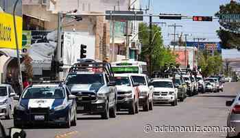#Cuauhtemoc | Refuerzan operativo preventivo en calles y negocios de la ciudad - Adriana Ruiz