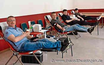 Hohe Bereitschaft zum Blutspenden, aber Konserven werden knapp - inSüdthüringen.de