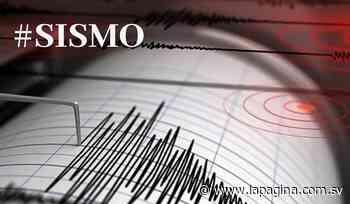 Sismo 2.5 en Chinameca, San Miguel - Diario La Página - Diario La Página