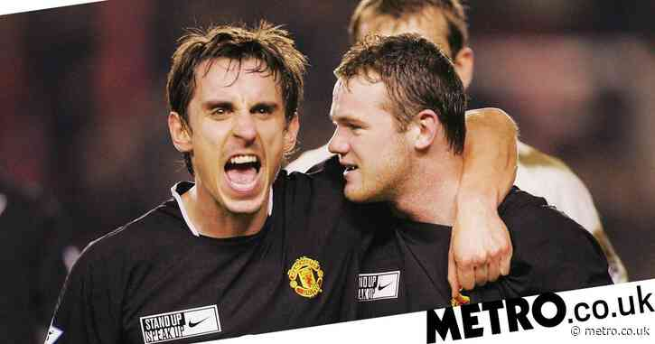 Gary Neville reveals Wayne Rooney got in a scrap on Man Utd group night out despite being 'man marked' by security