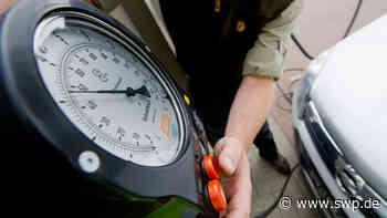 Polizei in Eislingen: Angeheitert mit platten Reifen gegen Kontaktverbot verstoßen - SWP