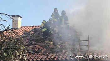 Adro, scoppia un incendio in un appartamento - QuiBrescia - QuiBrescia.it