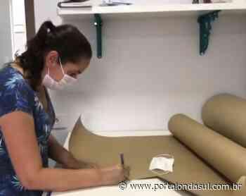 Fábrica de Juruaia deixa de produzir peças íntimas para fabricar máscaras que serão doadas à Secretaria de Saúde de Poços - Portal Onda Sul