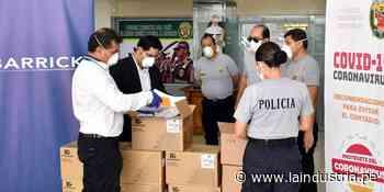 Minera dona implementos a la PNP y a centros de salud de Quiruvilca, Sanagorán y Usquil - La Industria.pe