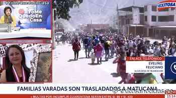 Estado de emergencia: personas varadas en Cocachacra serán trasladadas a Matucana - exitosanoticias