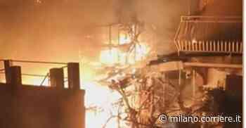 Incendio Cusano Milanino, in fiamme il box di una villetta: in salvo una coppia di anziani - Corriere della Sera