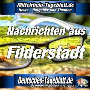 Filderstadt - Verkehr: Vollsperrung der Marienstraße, Höhe Gebäude 6-20, in Bernhausen - Mittelrhein Tageblatt
