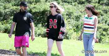 Shia LaBeouf and Mia Goth Wear Wedding Bands Again While Out on a Walk - PEOPLE