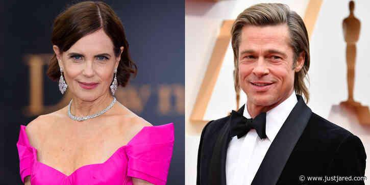 Downton Abbey's Elizabeth McGovern Jokes She Taught Brad Pitt How To Kiss