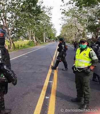 Se registra cierre total de la vía Caucasia-Planeta Rica en Córdoba - Diario La Libertad