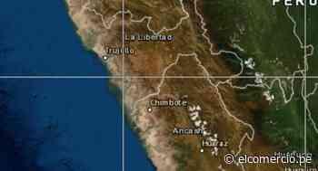 Áncash: sismo de magnitud 4,1 se reportó en Huarmey, señaló IGP - El Comercio Perú