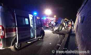 Orbassano: si schianta con l'auto sulla tangenziale sud, ferito 35enne - L'Eco del Chisone