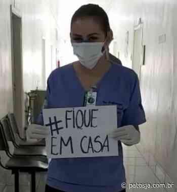 Profissionais de saúde de Lagoa Formosa sensibilizam população com mensagem contra o coronavírus - Patos Já