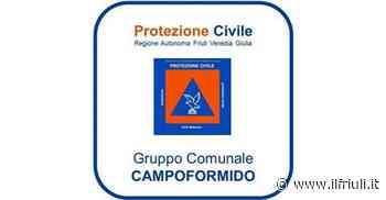 Nuova pagina per la Protezione Civile di Campoformido - Il Friuli