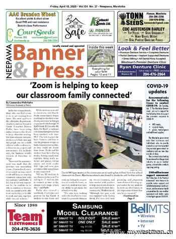 Friday, April 10, 2020 Neepawa Banner & Press - myWestman.ca