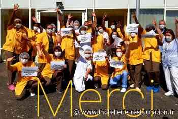 #Coronavirus : Action de solidarité au CEFAA de Villepinte - L'Hôtellerie Restauration