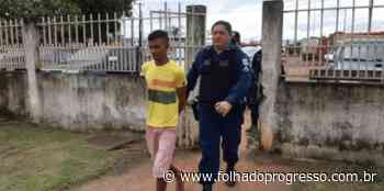 Em Itaituba, marido é preso por agredir mulher e cunhada com facão - Jornal Folha do Progresso