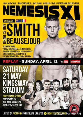 Nemesis 11: Smith Vs. Beausejour Streaming On The Mix - The MIX