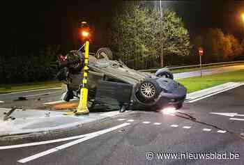 Vreemde crash met Franse wagen in Oudsbergen: schoten gehoord, hulzen aangetroffen