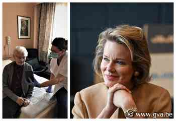 """Thuisverpleegkundige krijgt koningin Mathilde aan de lijn: """"Warme woorden van steun"""" - Gazet van Antwerpen"""