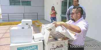 Gobierno municipal de Chimalhuacan entrega insumos a Hospital General San Agustin - todotexcoco.com