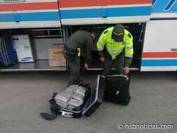 En maletas camuflaron marihuana: hallazgo en Tangua | HSB Noticias - HSB Noticias