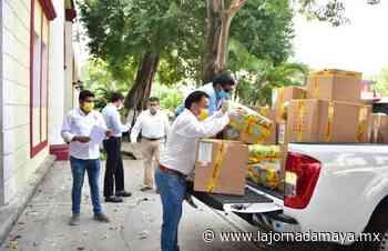 Empresas donan insumos médicos para hospitales de Ciudad del Carmen - La Jornada Maya