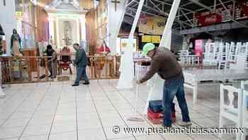 Protección Civil de Chignahuapan continúa con las revisiones en el mercado Guadalupe - Puebla Noticias