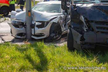 Zwei Schwerverletzte in Coswig - Sächsische Zeitung