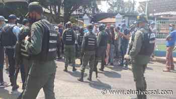 Casi 300 repatriados fueron ubicados en el IUT de Michelena - El Universal (Venezuela)