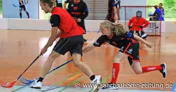 """""""Black Pitballs"""" aus St. Wendel sind der einzige Floorball-Verein im Saarland - Saarbrücker Zeitung"""
