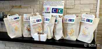 Seine-et-Marne. Les commerçants de Tournan-en-Brie livrent des masques et des chocolats à l'Ehpad - actu.fr