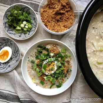 You need to try this gingery chicken congee