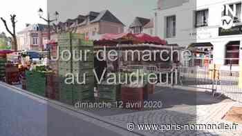 VIDÉO. Le Vaudreuil : des commerçants et des acheteurs satisfaits du marché - Paris-Normandie
