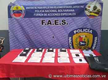 Faes desarticula banda de traficantes El Paipa en el Táchira - Últimas Noticias