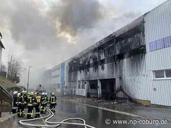 Brand bei der Firma Gerresheimer in Tettau, 14.04.2020 - Neue Presse Coburg