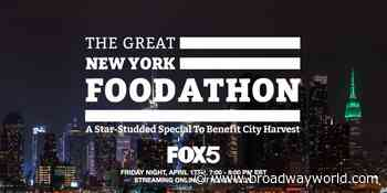 THE GREAT NEW YORK FOODATHON to Feature John Legend, Neil Patrick Harris, & More! - Broadway World
