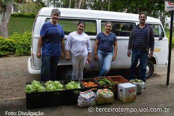 Campus Muzambinho doa alimentos às entidades beneficentes da região - Notícias - Terceiro Tempo - Milton Neves