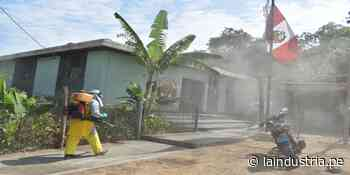 Coronavirus: desinfectan y fumigan calles en Ascope   TRUJILLO - La Industria.pe