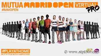 Gael Monfils & Fabio Fognini To Compete At Mutua Madrid Open Virtual Pro - ATP Tour